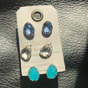 7e5b2e502310d 3 set Anthropologie earrings